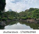 Shinjuku Gyoen Park. Tokyo ...