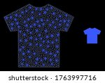 bright web mesh male t shirt... | Shutterstock .eps vector #1763997716