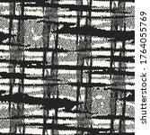 monochrome mottled halftone... | Shutterstock .eps vector #1764055769