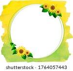 Sunflower Simple Wreath  Round...