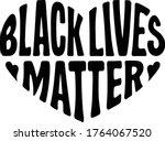 black lives matter vector... | Shutterstock .eps vector #1764067520
