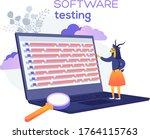 software testing web banner....