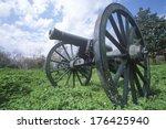Cannon At Vicksburg National...