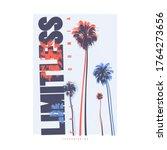 limitless california vector... | Shutterstock .eps vector #1764273656