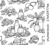 seamless pattern of graphic... | Shutterstock .eps vector #1764297746