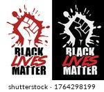 black lives matter quote for...   Shutterstock .eps vector #1764298199