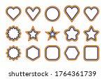 lgbt flag. circle  star ... | Shutterstock .eps vector #1764361739