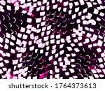 Snake Skin Random Texture. Geo...