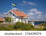 House In Kaeringoen In Sweden