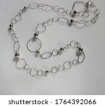 Station Vintage Necklace With...