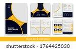 creative business bi fold... | Shutterstock .eps vector #1764425030