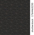 continuous monochrome vector... | Shutterstock .eps vector #1764463250