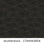 seamless minimal graphic... | Shutterstock .eps vector #1764463856