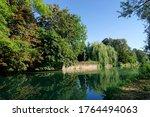 Grand Morin River In Crecy La...