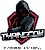 games logo black ninja in the...   Shutterstock .eps vector #1764558470