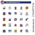 pack of 25 creative usa... | Shutterstock .eps vector #1764597176