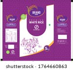 purple rice package thailand... | Shutterstock .eps vector #1764660863