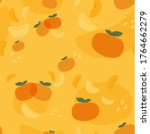 Fresh Mandarin Seamless Pattern....