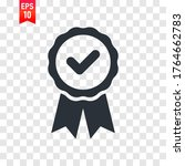 medal icon vector illustration  ... | Shutterstock .eps vector #1764662783