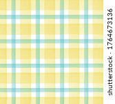 watercolor checkered pattern.... | Shutterstock .eps vector #1764673136