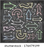 sketch arrow collection for... | Shutterstock .eps vector #176479199