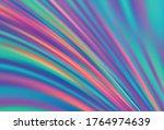 dark blue  yellow vector... | Shutterstock .eps vector #1764974639
