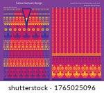 salwar kameez artwork for ready ... | Shutterstock .eps vector #1765025096