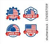labor day of america badge logo ...   Shutterstock .eps vector #1765057559