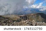 Top Of Ben Nevis In Scotland