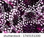 Vibrant Geometric Swimwear...