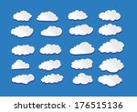 design of clouds vector... | Shutterstock .eps vector #176515136