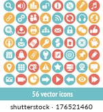 app icon vector isolated objects | Shutterstock .eps vector #176521460