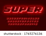 futuristic dynamic alphabet ... | Shutterstock .eps vector #1765276136