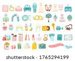 wedding vector big set of...   Shutterstock .eps vector #1765294199