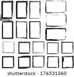 grunge frames. vector... | Shutterstock .eps vector #176531360