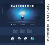 website template for your... | Shutterstock .eps vector #1765371650