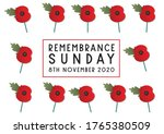 Remembrance Sunday Poppies...