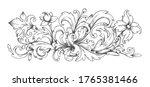 baroque ornament. border...   Shutterstock .eps vector #1765381466