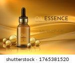 Cosmetic Oil. Realistic...