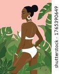 Beautiful Black Girl In A...