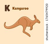 Cartoon Kangaroo  Cute...