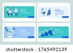 set of web page design... | Shutterstock .eps vector #1765492139