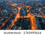 Amsterdam City Skyline At Night ...