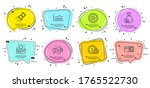 loyalty card  usd coins and fan ...   Shutterstock .eps vector #1765522730