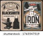 Blacksmith Work  Steel Metal...