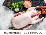 Whole Raw Goose. Recipe For...