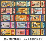 circus tickets  carnival show... | Shutterstock .eps vector #1765554869
