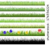 Grass Patterns  Vector Version...