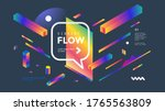 creative design poster with... | Shutterstock .eps vector #1765563809