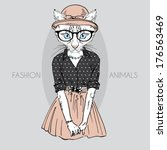 Hand Drawn Fashion Illustratio...